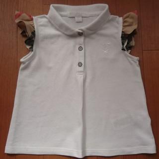バーバリー(BURBERRY)の美品 バーバリーポロシャツ(Tシャツ/カットソー)