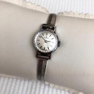 エドックス(EDOX)のSWISS製 EDOX エドックス レディース手巻き腕時計 稼動品(腕時計)
