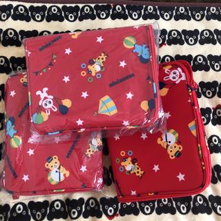 ミキハウス(mikihouse)の新品♡ミキハウス ストレージボックス おもちゃ箱 収納 福袋 3つセット(収納/チェスト)