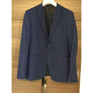 ザラ(ZARA)のザラ  MAN  ブルー ジャケット  ブレザー(テーラードジャケット)
