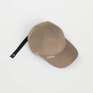 ハイク(HYKE)のHYKE TNF the northface GTX CAP 帽子 タン(キャップ)