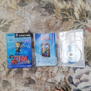 ニンテンドーゲームキューブ(ニンテンドーゲームキューブ)のゼルダの伝説 風のタクト(家庭用ゲームソフト)