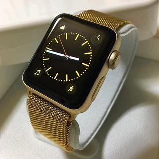 Apple Watch - 大人気カラー apple watch serise2  Gold