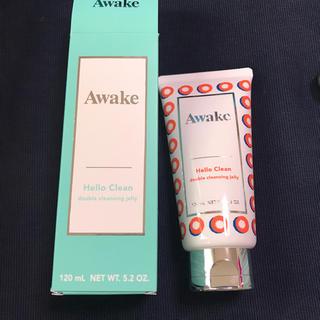アウェイク(AWAKE)のawake 洗顔 クレンジング(クレンジング / メイク落とし)