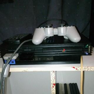 プレイステーション(PlayStation)の訳有中古PlayStation2本体・型式18000(家庭用ゲームソフト)