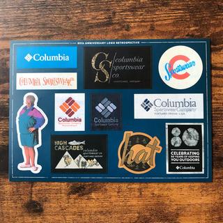 コロンビア(Columbia)のコロンビア Colombia 非売品ステッカー(登山用品)