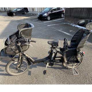 ブリヂストン(BRIDGESTONE)の子ども乗せ電動アシスト自転車  ブリジストン アンジェリーノ ブラック(自転車本体)