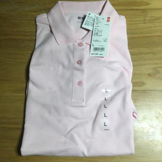 ユニクロ(UNIQLO)のユニクロ  ポロシャツ 半袖 L 未使用(ポロシャツ)
