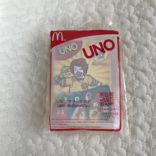 マクドナルド(マクドナルド)の新品未使用 ハッピーセット UNO ゲーム ウノ(トランプ/UNO)