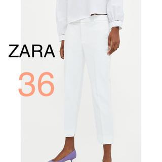 ザラ(ZARA)の新品!ZARA パンツ クロップド丈(クロップドパンツ)