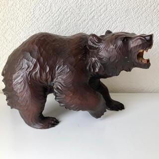 木彫りの熊 堀井民芸作