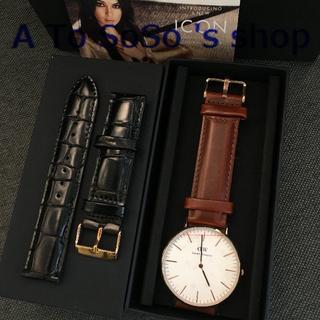 ダニエルウェリントン(Daniel Wellington)の☆DW 時計とベルト ST MAWESとREADING メンズ用 40ミリ(腕時計(アナログ))