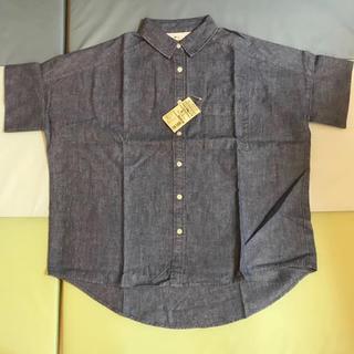 MUJI (無印良品) - 無印オーガニックコットンワイドシャツ