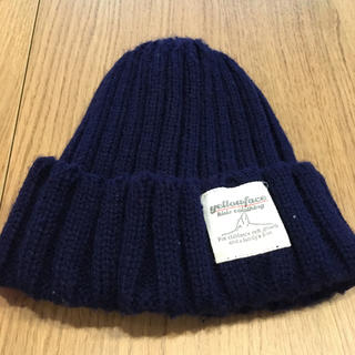 ザラキッズ(ZARA KIDS)のイエローフェイス ニット帽(ニット帽/ビーニー)