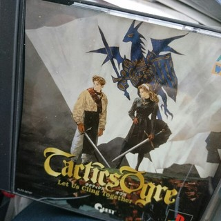 プレイステーション(PlayStation)のPS 説明書なし タクティクスオウガ 送料込み(家庭用ゲームソフト)