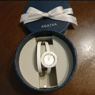 アガタ(AGATHA)の未使用 AGATAH アガタ セラミックウォッチ 白(腕時計)