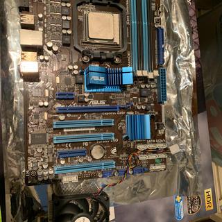 エイスース(ASUS)の【セット品】CPU、クーラー、マザーボード、メモリ(PCパーツ)