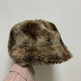 カオリノモリ(カオリノモリ)のカオリノモリ ファーキャスケット いそさやぐらむさん専用(キャスケット)