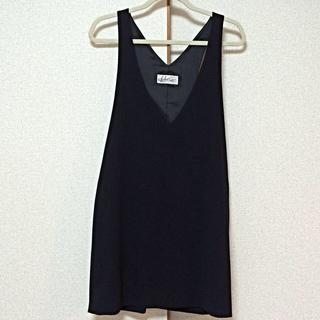 エディットフォールル(EDIT.FOR LULU)のLULUのジャンパースカート(ひざ丈ワンピース)