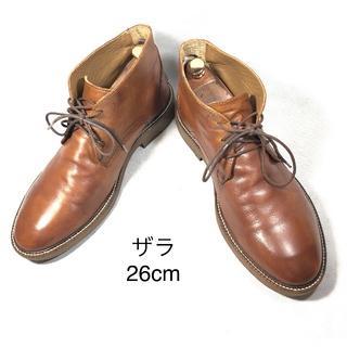 ザラ(ZARA)の【ZARA MAN】ザラ チャッカブーツ 26cm(ブーツ)