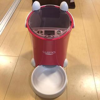 (送料込) ルスモ LUSMO 犬 猫 ペット用 自動餌供給機(その他)