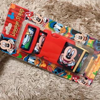 Disney - 新品 香港ディズニー ミッキーフレンズ スーツケースベルト