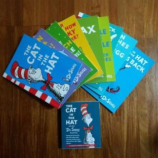 Dr Seuss 英語絵本9冊とCD2枚 英語育児
