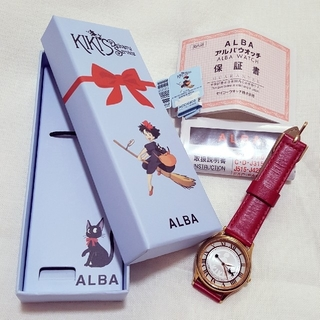 アルバ(ALBA)の魔女の宅急便:::腕時計 美品(腕時計)