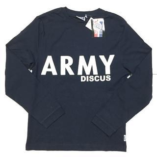 ディスカス(DISCUS)の新品 88 Mサイズ DISCUS ディスカス ロンT 長袖Tシャツ ARMY(Tシャツ/カットソー(七分/長袖))