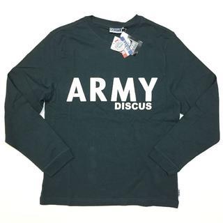 ディスカス(DISCUS)の新品 79 Lサイズ DISCUS ディスカス ロンT 長袖Tシャツ ARMY(Tシャツ/カットソー(七分/長袖))