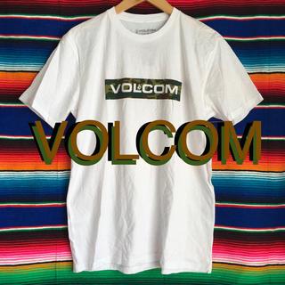 volcom - volcomボルコムUS限定カモフラージュボックスロゴTシャツL