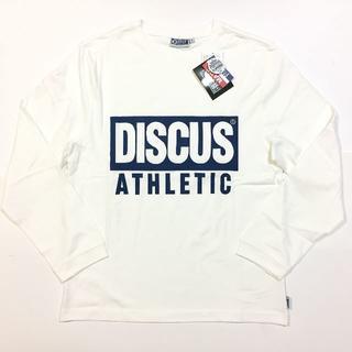 ディスカス(DISCUS)の新品 01 Lサイズ DISCUS ディスカス ロンT 長袖Tシャツ 綿100%(Tシャツ/カットソー(七分/長袖))