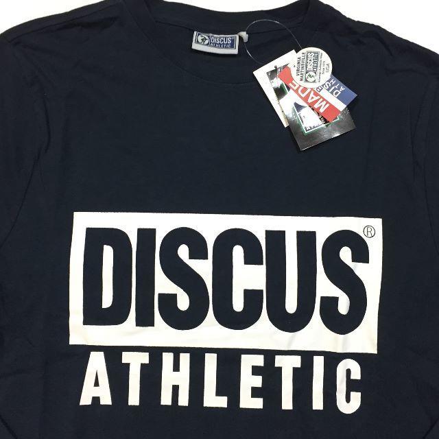 DISCUS(ディスカス)の新品 88 Lサイズ DISCUS ディスカス ロンT 長袖Tシャツ 綿100% メンズのトップス(Tシャツ/カットソー(七分/長袖))の商品写真