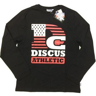 ディスカス(DISCUS)の新品 09 Mサイズ DISCUS ディスカス ロンT 長袖Tシャツ 星条旗(Tシャツ/カットソー(七分/長袖))