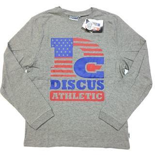 ディスカス(DISCUS)の新品 14 Lサイズ DISCUS ディスカス ロンT 長袖Tシャツ 星条旗(Tシャツ/カットソー(七分/長袖))