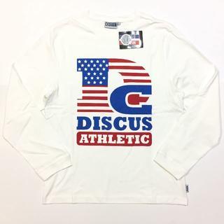ディスカス(DISCUS)の新品 01 XL DISCUS ディスカス ロンT 長袖Tシャツ 星条旗(Tシャツ/カットソー(七分/長袖))