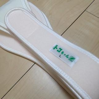 まる様専用  美品☆トコちゃんベルト2 L 白色(マタニティウェア)
