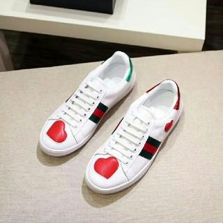 グッチ(Gucci)のグッチ GUCCI フラットシューズ 靴 カジュアルシューズ デッキシューズ ♡(デッキシューズ)