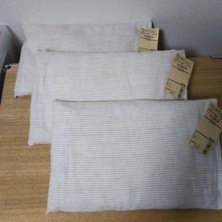 ムジルシリョウヒン(MUJI (無印良品))の無印良品 そば殻 ミニまくら3点セット 新品(シーツ/カバー)