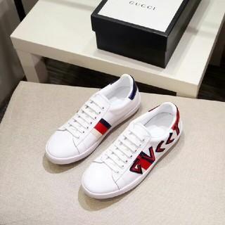 グッチ(Gucci)のグッチ GUCCI フラットシューズ 靴 カジュアルシューズ デッキシューズ(デッキシューズ)