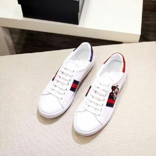 グッチ(Gucci)のグッチ GUCCI フラットシューズ 靴 カジュアルシューズ デッキシューズ 猫(デッキシューズ)