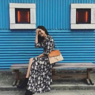 ザラ(ZARA)の中村アンさん着用 花柄ワンピース(ロングワンピース/マキシワンピース)