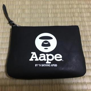 アベイシングエイプ(A BATHING APE)のAape ノベルティ小銭入れ(コインケース)