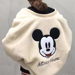 ディズニー(Disney)のミッキーボアブルゾンジャケット(ブルゾン)