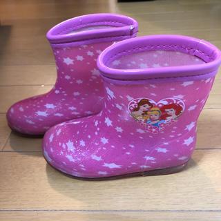 ディズニー(Disney)のディズニー プリンセス レインブーツ 長靴 キッズ 15cm(長靴/レインシューズ)