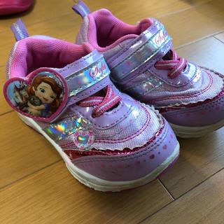 ディズニー(Disney)のディズニー ソフィア スニーカー 靴 15cm(スニーカー)