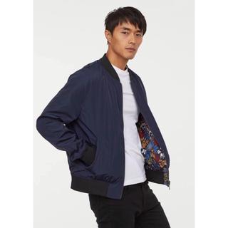 エイチアンドエム(H&M)の【H&M】新作&新品 MA-1 リバーシブル ジャケット M(フライトジャケット)