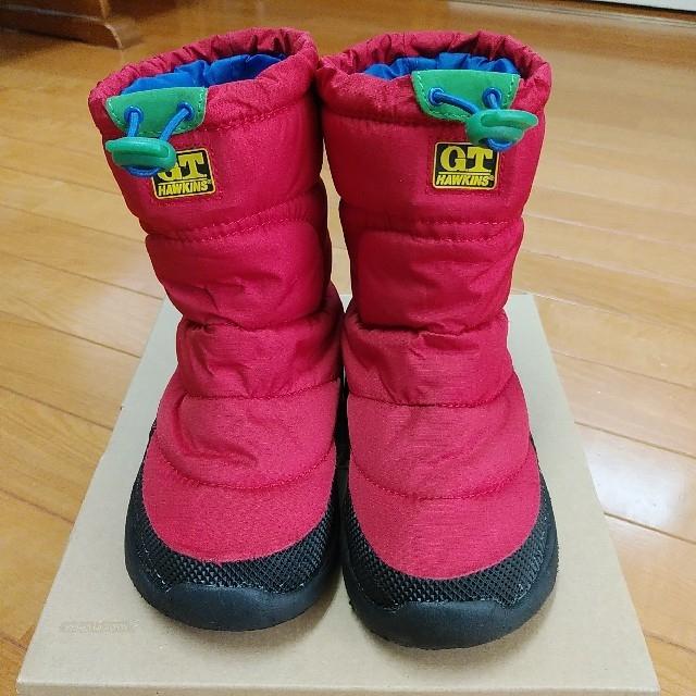 G.T. HAWKINS(ジーティーホーキンス)のホーキンス スノーブーツ 17cm キッズ/ベビー/マタニティのキッズ靴/シューズ (15cm~)(ブーツ)の商品写真
