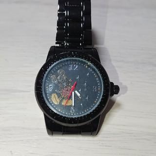 セガ(SEGA)の【未使用】ミッキー 腕時計 ブラック(腕時計)