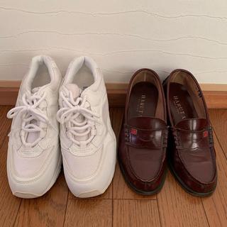 羽衣学園 高校 ローファー 体育館シューズ(靴/ブーツ)
